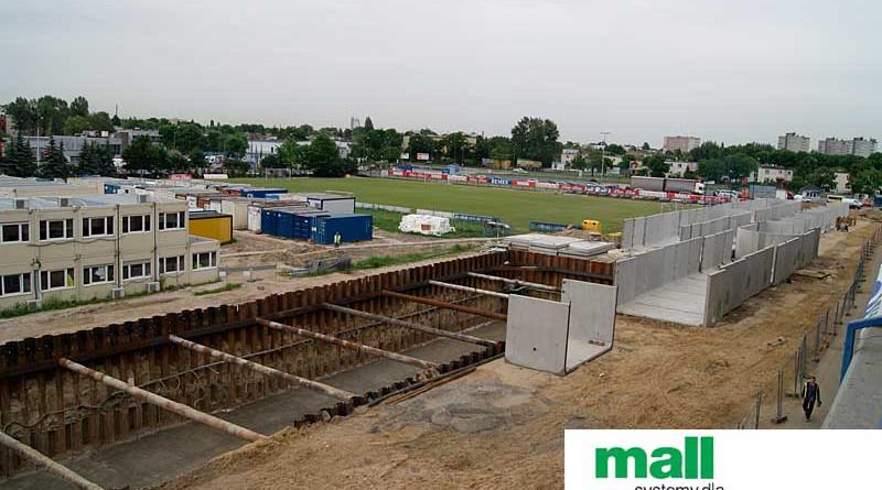 Zbiorniki retencyjne stadion Lecha Poznań